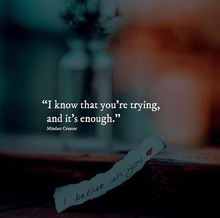 Its enough.