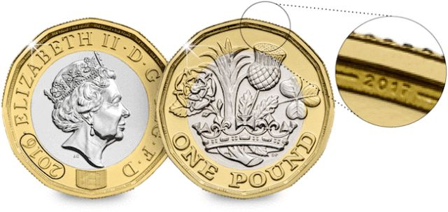 Change Checker | dual dated pound coin