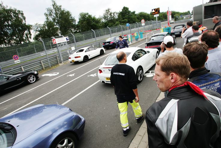 Nuerburgring Nordschleife.  Entering Gate of Hell.