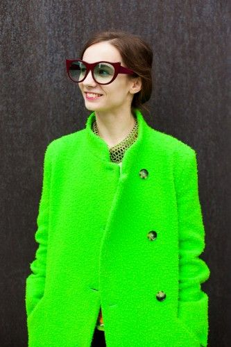 How to wear sunglasses all year around, the street style way! Photos by Anna-Alexia Basile.