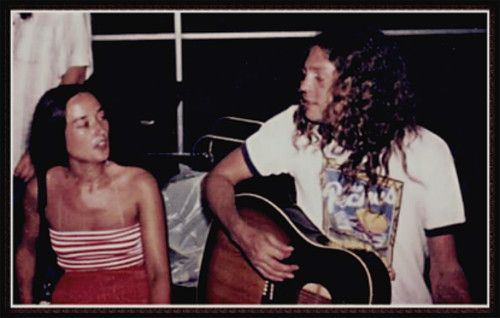 Allen Collins and his wife Kathy