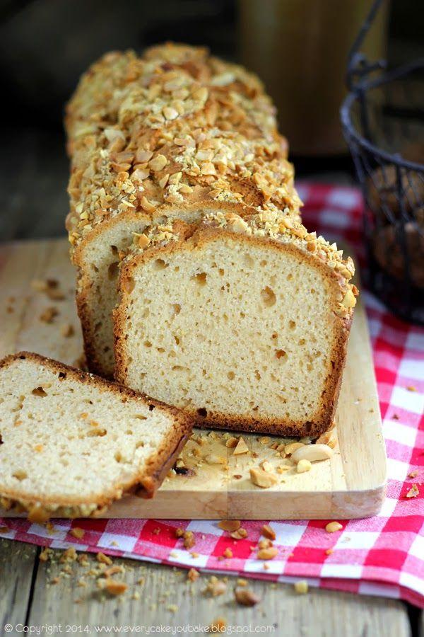 Every Cake You Bake: Chlebek fistaszkowy (z masłem orzechowym i orzeszk...
