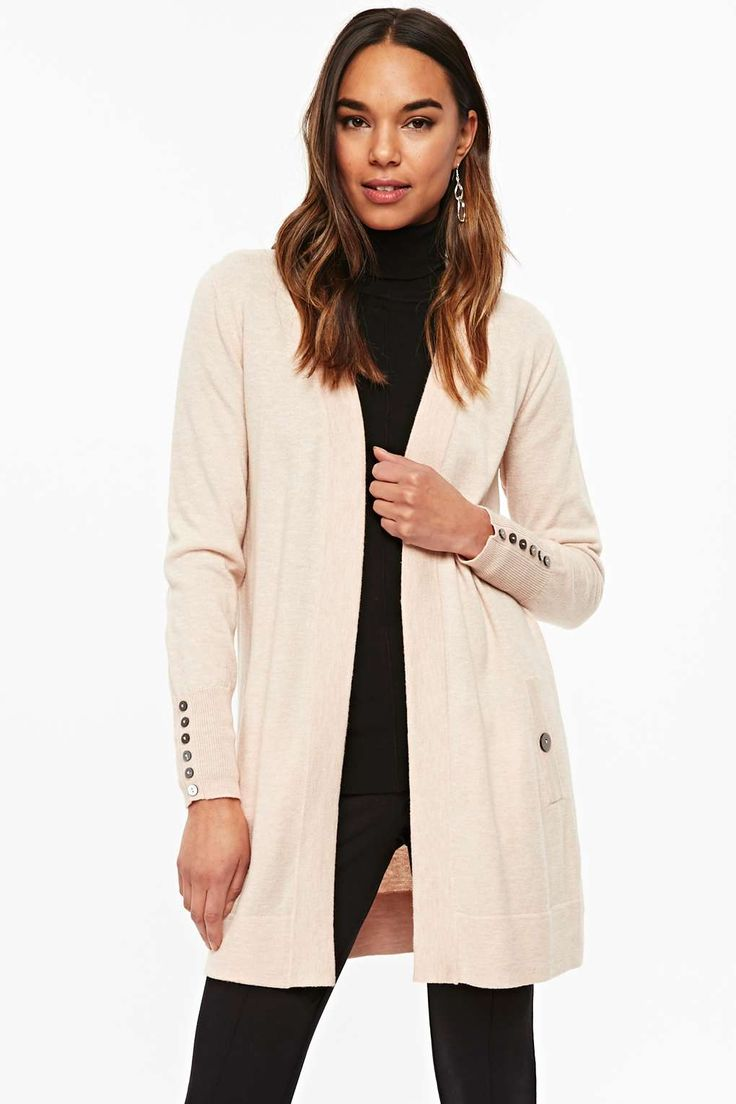 This blush longline cardigan from @WallisFashion is the perfect versatile layering piece for your wardrobe this season. Wear over any outfit for a chic and simple look, perfect for every day 😍