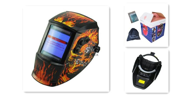 Solar Power Auto Darkening Welding Helmet EH-936 Professional Welder Mask for Soldering Iron Station