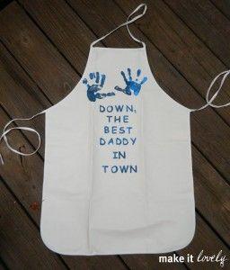 Daddy BBQ apron