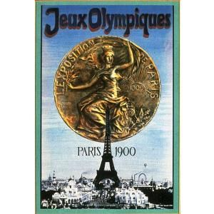 Official logo of the 1900 Olympic Games in Paris.