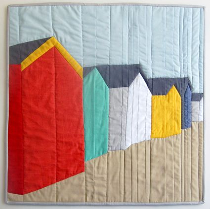 Mini Quilt of the Month, August: Piecing a Photograph | The Purl Bee