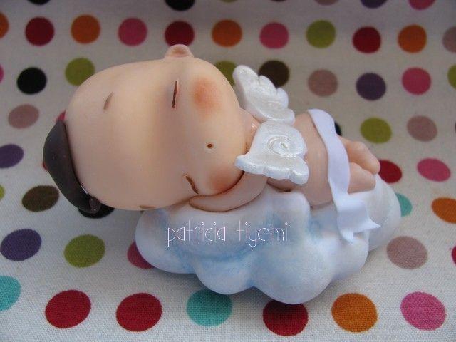 Um anjo Fofinho para o Raphael! by Patricia Tiyemi ^.^, via Flickr