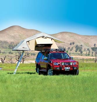 Roof rack tent from ARB.