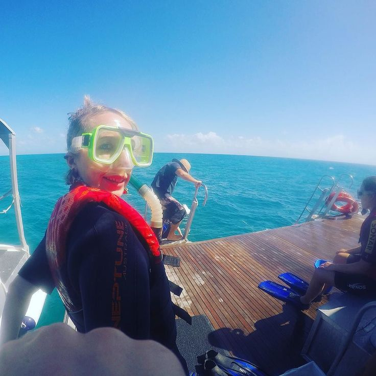 Ready for snorkeling at the Great Barrier Reef!! #snorkeling #greatbarrierreef by bethclitheroe http://ift.tt/1UokkV2