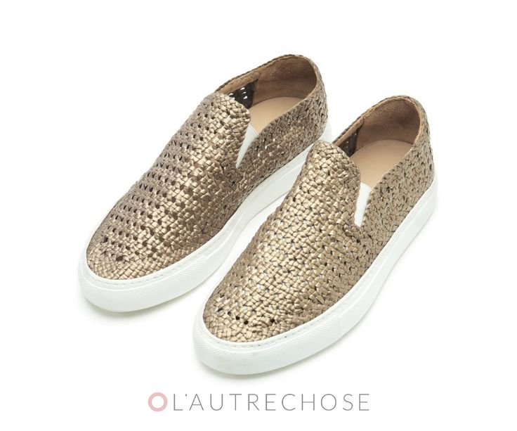 L'Autre Chose #sneakers from the spring/summer collection.  #lautrechose #spring #ss15 #slipon #shoes #womanfashion #fashion #trend