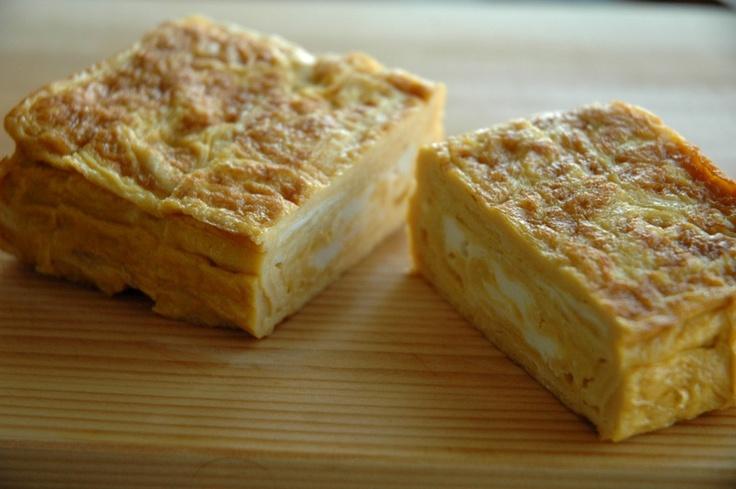 """Atsuyaki-Tamago"" or Baked Egg"