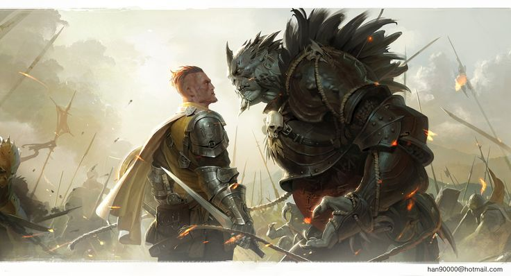Downaload Overlord King And Warriors Art Wallpaper: War Picture (2d, Fantasy, Concept