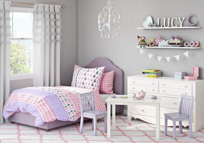 Roxane Platform Bed | Kids bedroom, Kids bedroom sets, Kids ...