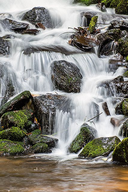 Indian Creek Falls, Great Smoky Mountains National Park, USA