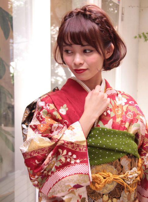あみこみボブスタイル 【La familia】 http://beautynavi.woman.excite.co.jp/salon/26116?pint ≪ #arrange #hairstyle・アレンジ・ヘアスタイル・髪形・髪型≫