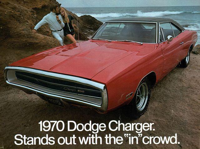 1970 Dodge Charger 500  by coconv, via Flickr