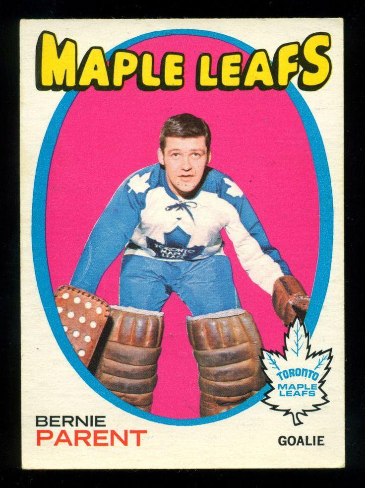 1971 72 Topps 131 BERNIE PARENT EX-NM TORONTO MAPLE LEAFS FLYERS #TorontoMapleLeafs