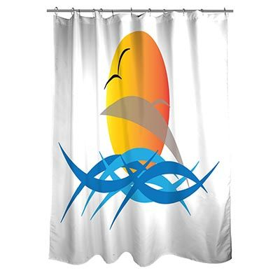 Nautica Shower Curtains Beautifully Designed by Luchana Keller Evans