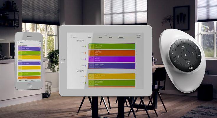 Smart Shades that simplify your life. Welkom bij PowerView™ Motorisation van Luxaflex®. Een revolutionair nieuw systeem dat je raamdecoratie automatisch bedient op elk gewenst moment van je dag.