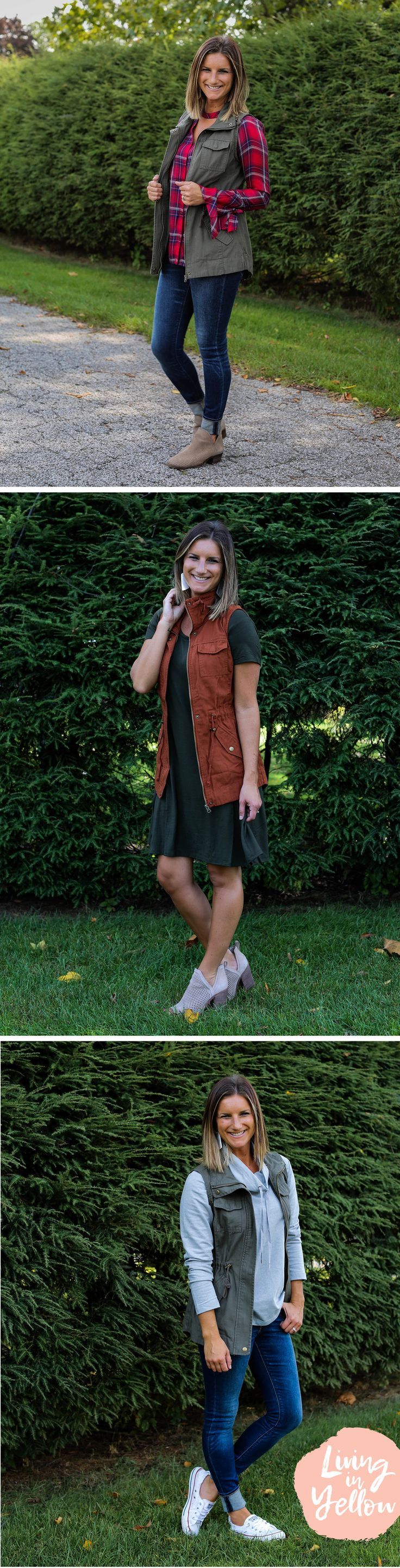 7 Ways to Style a Utility Vest