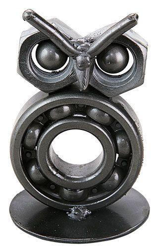 Mano hecha a mano con dibujo de Búho Arte Escultura Estatuilla De Metal Reciclado | Objetos de colección, Adornos de colección, Estatuillas | eBay!