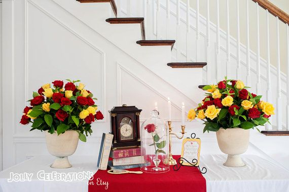 Belle or Beauty and the Beast Bridal Shower by ...