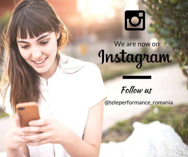 Follow us on Instagram @teleperformance_romania
