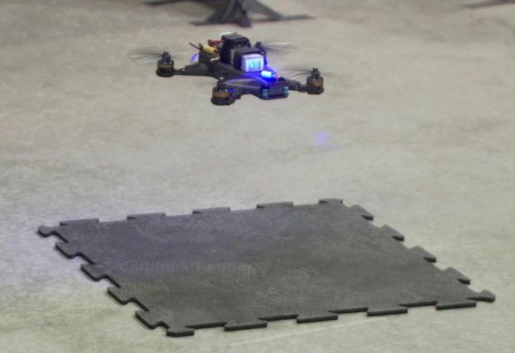 Drone Race à la NASA : Human vs Machine