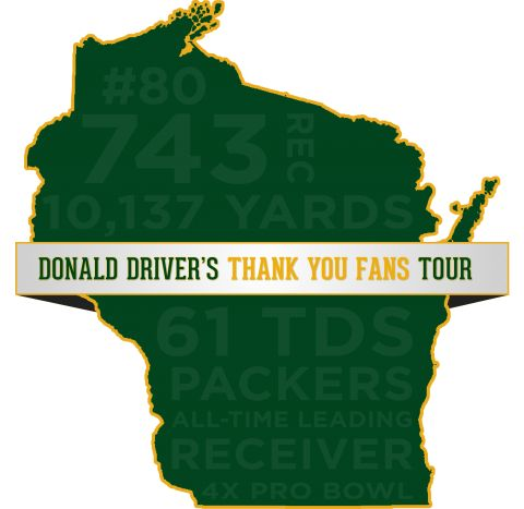 Donald Driver's Thank You Fans Tour Announced | Donald Driver 80