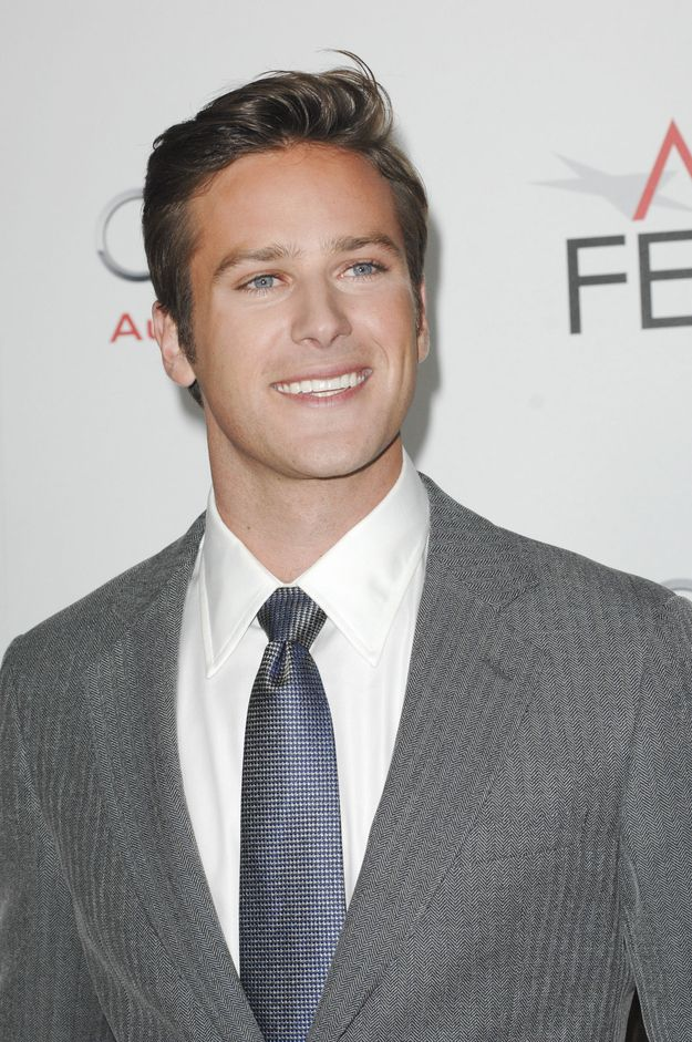 armie hammer should be christian grey