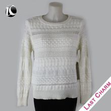 Cheap Female long sleeves plain white sweater  Best Seller follow this link http://shopingayo.space