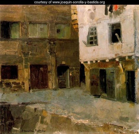 """The House of Victor Hugo in Airline"" ~ Joaquin Sorolla y Bastida  (Spanish, 1863-1923)"