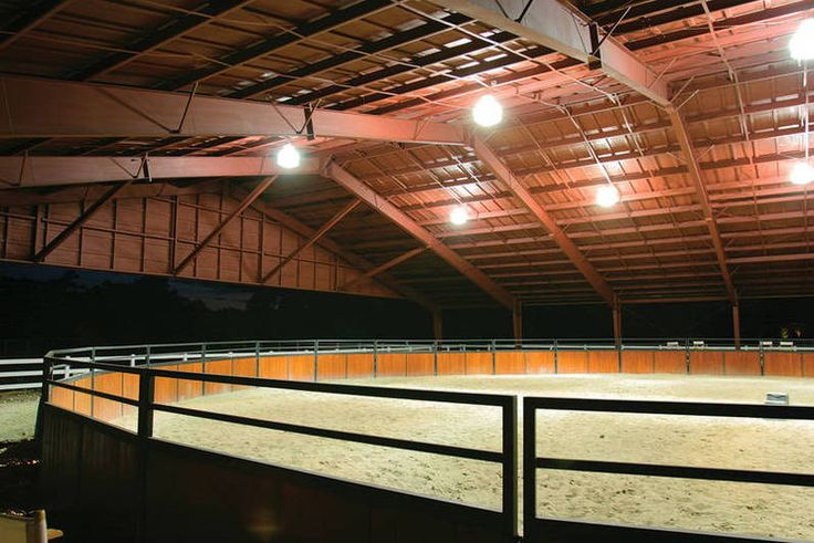 Horse Pens and Horse Arenas