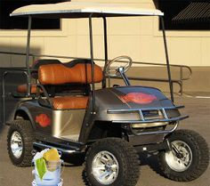 Some good tips on protecting and cleaning your vinyl golf cart seats.  Hint - do not use cleaners with bleach.