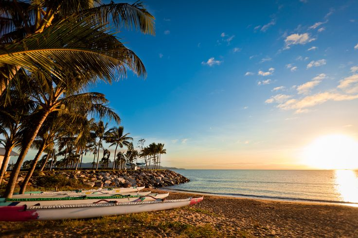 Sunrise on The Strand, Townsville, Queensland, Australia