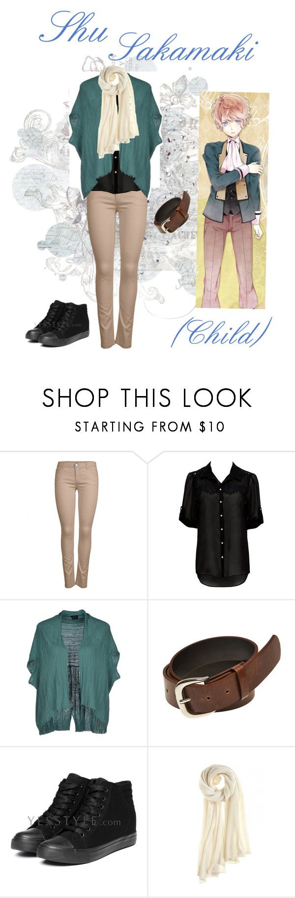 """""""Sakamaki Shu Casual Cosplay (Child), Diabolik Lovers"""" by psychometorzi ❤ liked on Polyvore featuring ONLY, Forever New, Gotha, Wet Seal, yeswalker and Calypso St. Barth"""