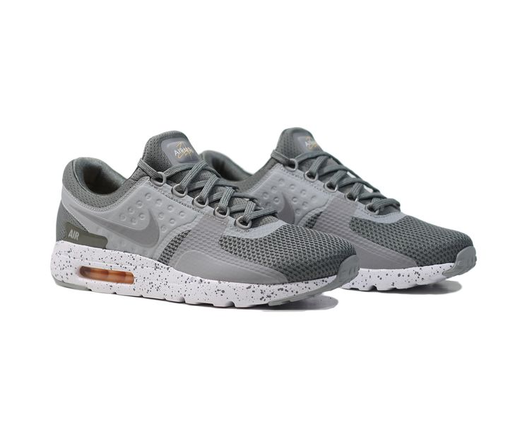 NIKE Air Max Zero PRM - Tumbled Grey/White-Melon Tint