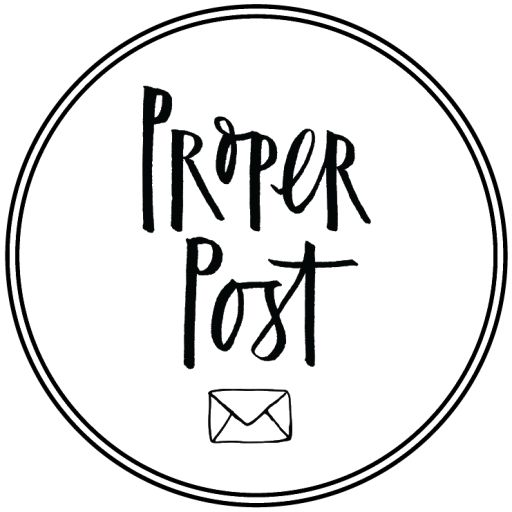 Proper Post - Greeting Cards and Stationery Subscription Service