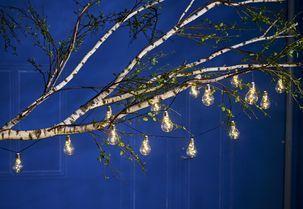Ljusslinga med solcell - NORTHLIGHT | Clas Ohlson