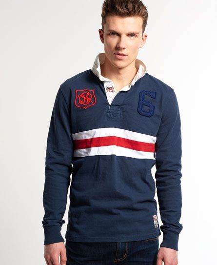 Super Scrum Rugby Shirt In Flyhalf Navy Stripe: 17 Best Images About Polo Shirt On Pinterest