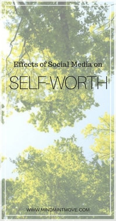 Effects of Social Media on Your Self-Worth