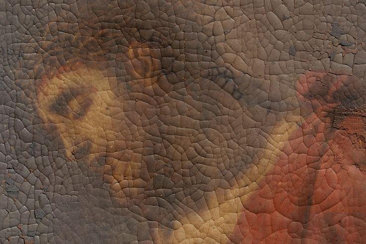 """Dipinto olio su tela raffigurante """"Ecce Homo"""". Prima tela, primo telaio, prima cornice. Misura con la cornice cm 59×73. Attribuzione scritta..."""