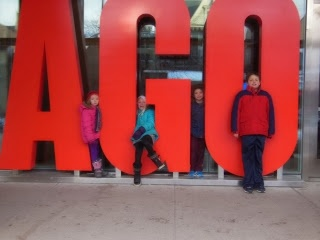 Fun things to do with kids in Ontario: The Art Gallery of Ontario (AGO)