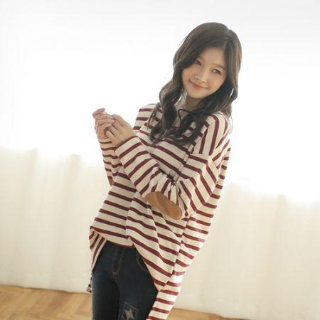 Womens Clothing Store [VANILLAMINT] Diyan T-shirt / Size : FREE / Price : 32.39 USD #dailyllook #dailyfashion #fashionitem #tops #T #TEE #Tshirts #stripeT #stripe #ootd #vanillamint http://en.vanillamint.net/ http://cn.vanillamint.net/ http://jp.vanillamint.net/