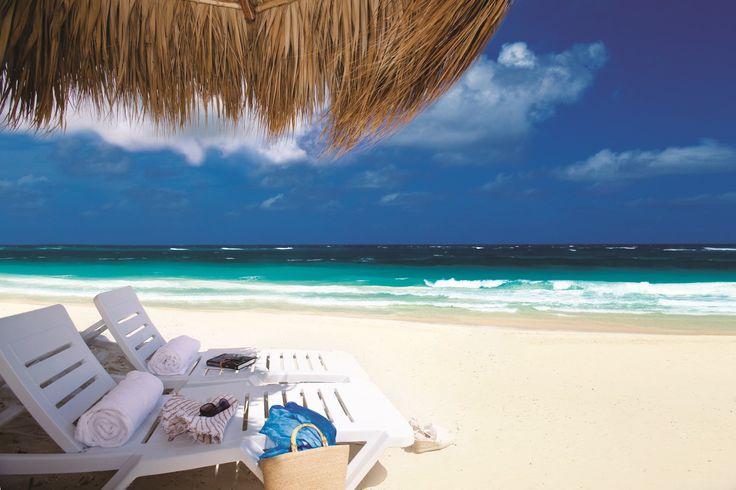 Punta Cana conta com 50 quilômetros de praias paradisíacas