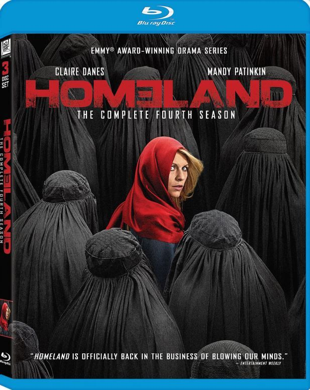 Here's our review for the Homeland Season 4 Blu-ray.