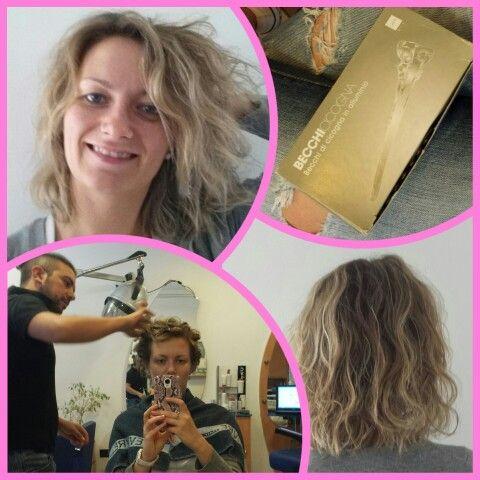 """Capelli mossi ma non troppo?! L'effetto """"pizzicato"""" fa per te! #curlyhair #hair #capelli #capellimossi #parrucchiere #hairstylist"""