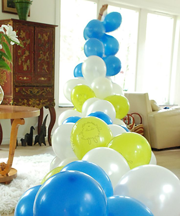 25 best ideas about how to make balloon on pinterest for Balloon decoration how to make