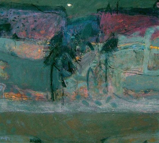 'Hillside, Evening' - Sandy Murphy (b. 1956)